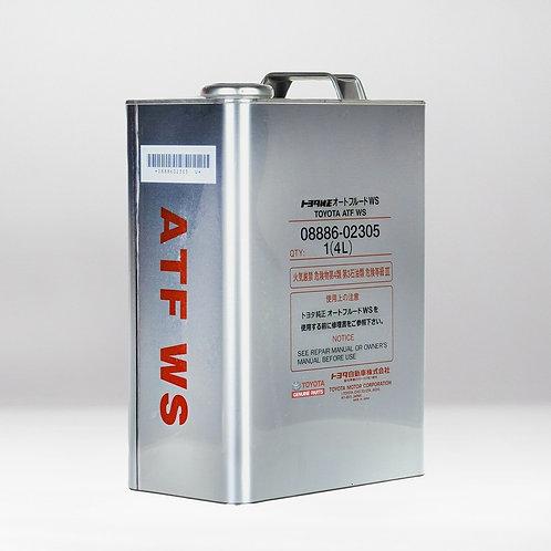 Трансмиссионное масло TOYOTA ATF WS 4л