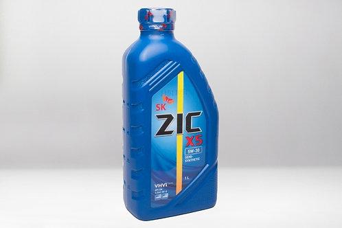 Моторное масло ZIC X5 SAE 5W30 1л SN,GF-5 GM dexos1