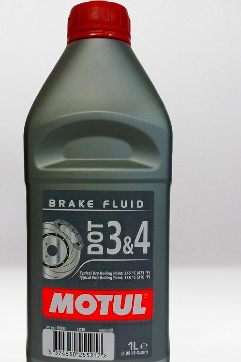 Тормозная жидкость  DOT 3s4 Brake Fluid FL 1л Motul