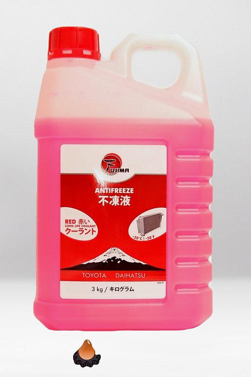 Антифриз -50 Fujima LongLife RED 3кг