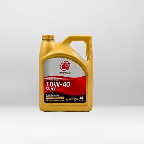 Моторное масло IDEMITSU SN/CF 5W-40 4 л.