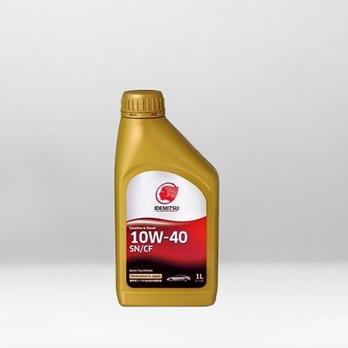 Моторное масло IDEMITSU SN/CF 10W-40 4 л.