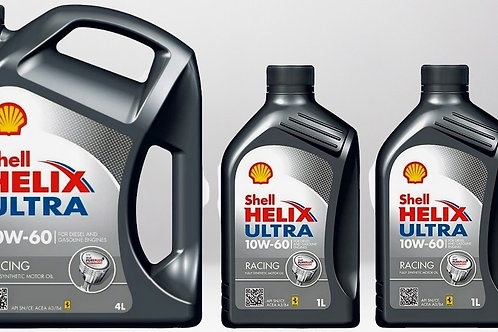 Моторное масло Shell Helix Ultra Racing SAE 10W60 4л