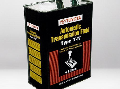 Трансмиссионное масло TOYOTA ATF Type T-IV 4л 08886-81015