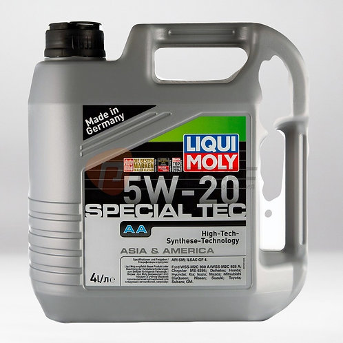 Моторное масло LIQUI MOLY Leichtlauf Special АА SAE 5W/20 Cинтетическое(Линия Аз