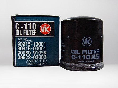 Масляный фильтр С-110 VIC япония