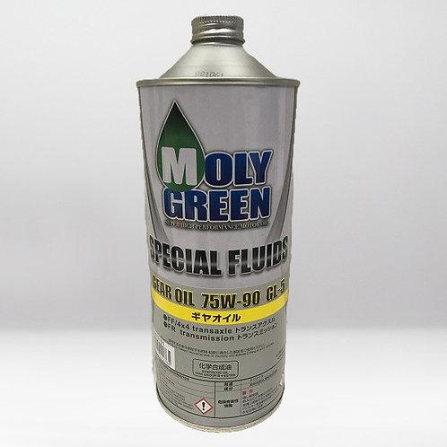 Трансмиссионное масло MOLYGREEN  GEAR OIL 75/90 GL-5 1л