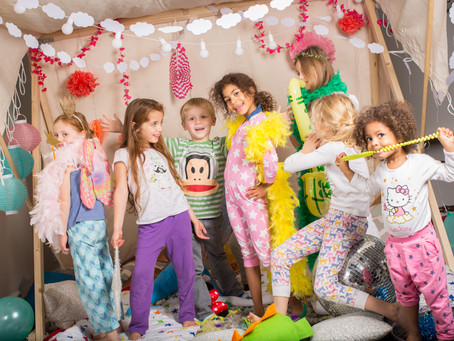 Sleepovers- the perfect winter birthday party