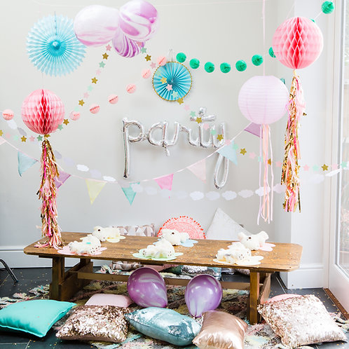 Magical Wonderland Pop Up Party for 6