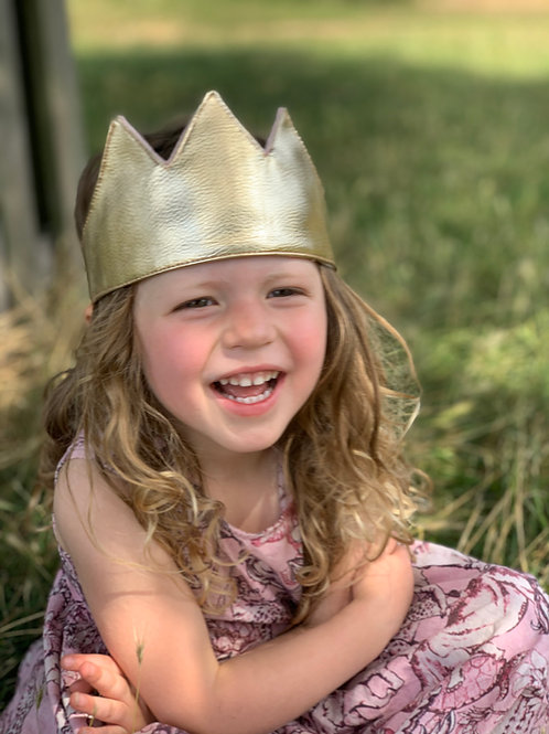 Gold Tassel Crown