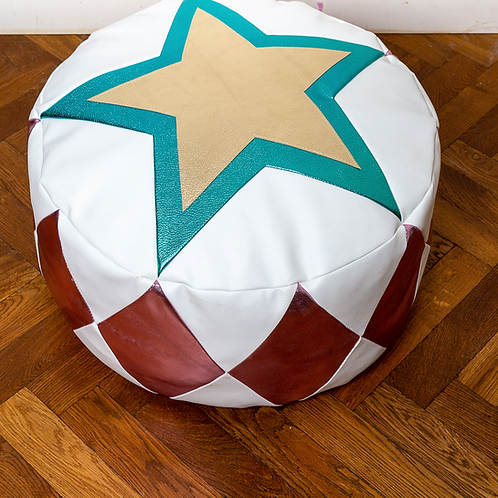 Roll Up! Roll Up! Pouffe