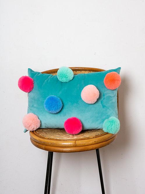 Pom Tiddly Pom cushion