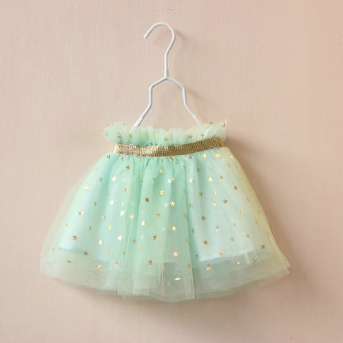 Wish Upon A Star Tutu- mint green