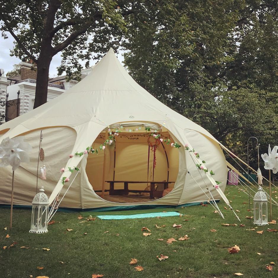 marshmallow-tent