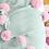 Thumbnail: Pom tiddly Pom throw blanket- mint