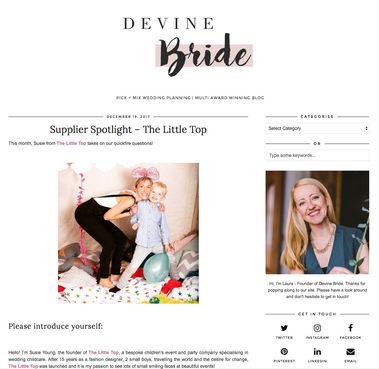 Devine Bride Blog