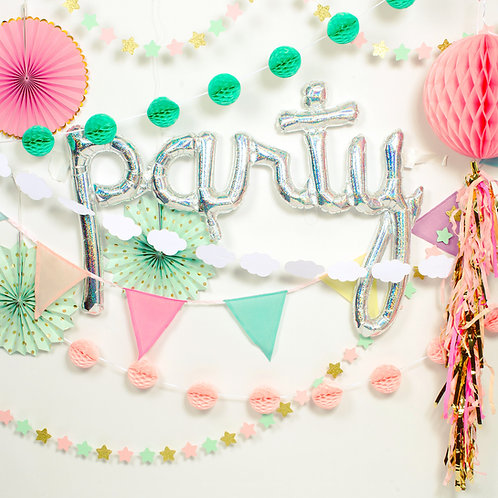 Wonderland Pink Party Decor Pack