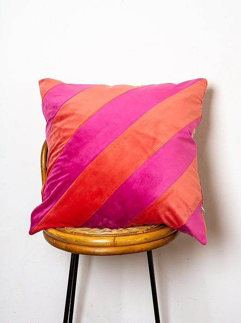 Superstripe cushion