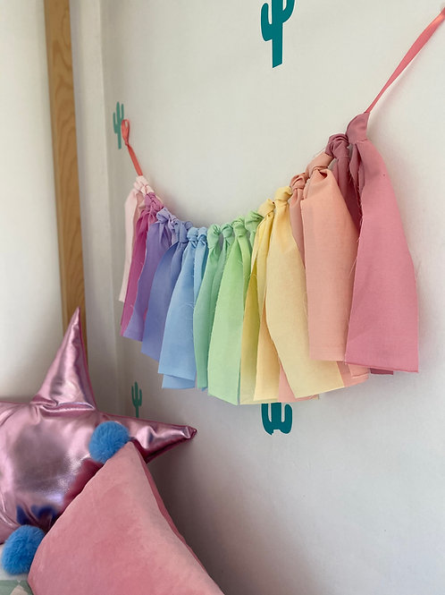 Ombree pastel cotton Wall Hanging