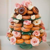 the little top donut cake