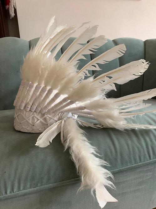 White Feather headdress- adult