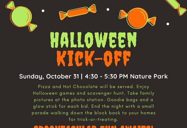 Halloween Kick-Off Event