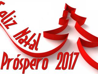 Feliz Natal e Próspero 2017!