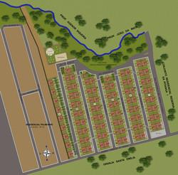 Planta de locação