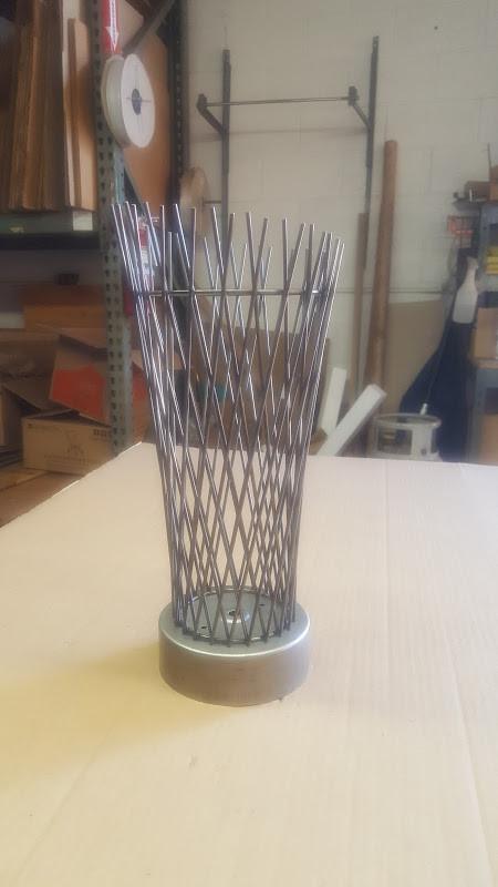 Vessel lamp prototype
