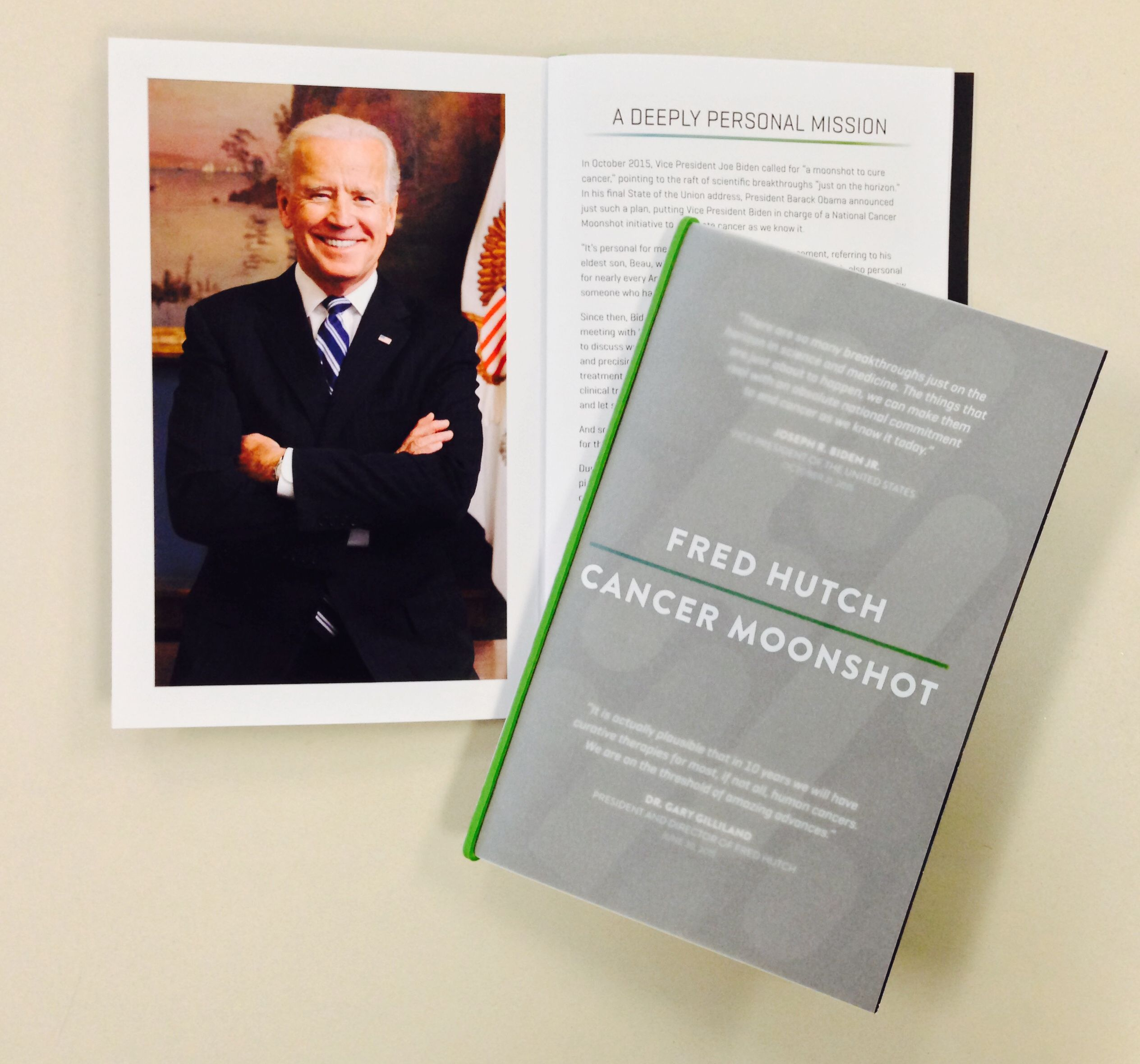 Vice President Joe Biden visits Fred HutchMoonshot