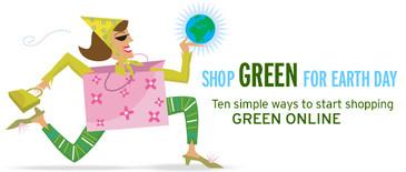 Shop Green header for msnbc.com