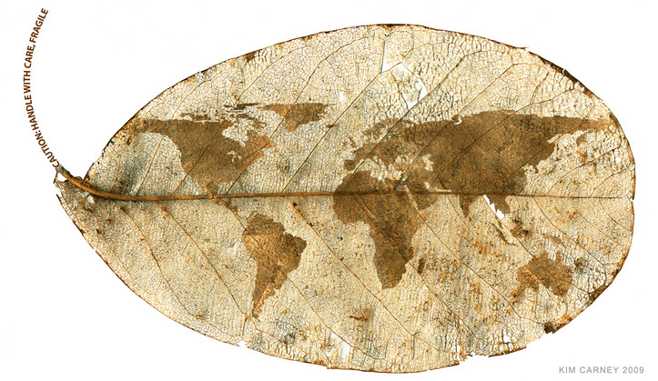 Earth drying up