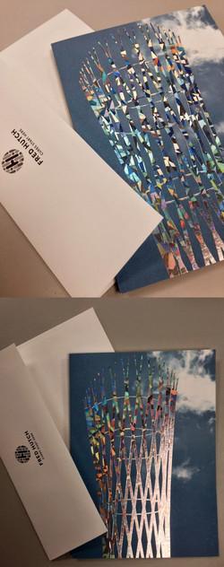 Vessel blank card