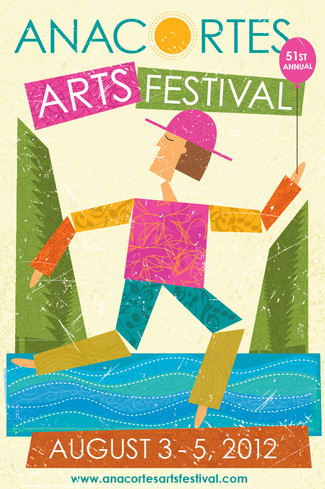 Anacortes Arts Festival poster