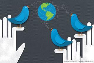 Twitter world