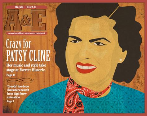 Patsy Cline for A&E magzine