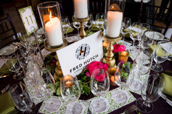 2016 Premier Chefs Dinner table graphics