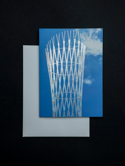 """Holographic blank """"vessel"""" card"""