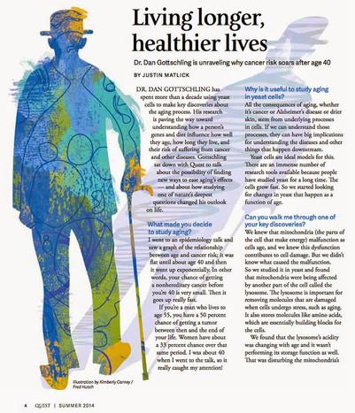 Living longer for Hutch Magazine