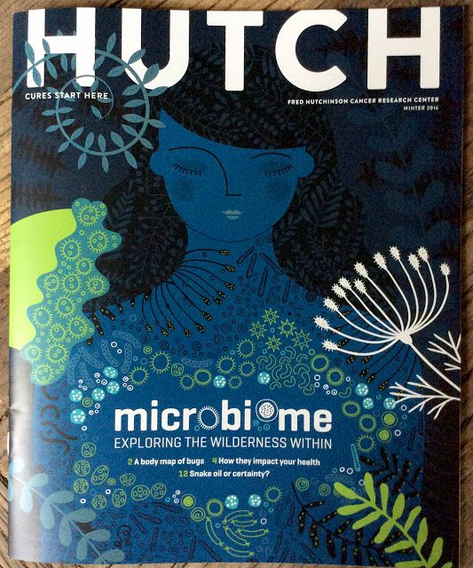 Hutch Magazine - microbiome issue