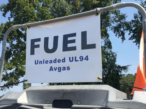 UL94 Unleaded Aviation Fuel at KWVI