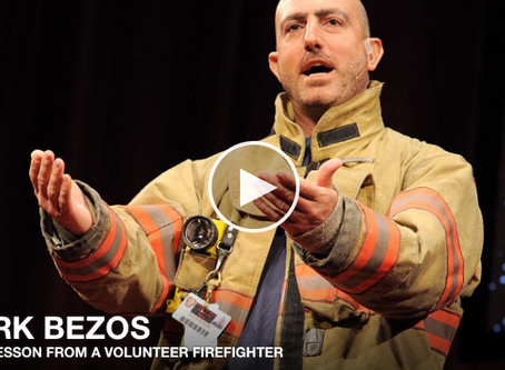 TED: A Life Lesson From a Volunteer Firefighter