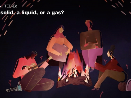 TED-Ed: Is fire a solid, liquid, or gas?