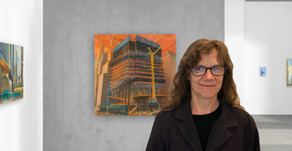 Gwyneth Leech — Making paintings of NYC under construction as the skyline changes before our eyes!
