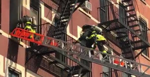 Fire on 9th Avenue — 2 injured