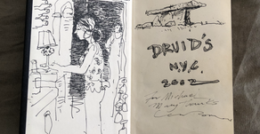 Sketches of Druids on Tenth Avenue