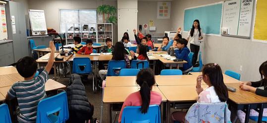 ETF @ Meyerholz Elementary in San Jose, California
