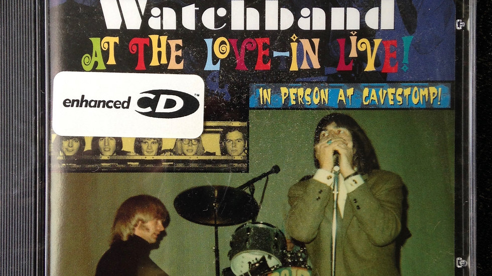 Chocolate Watchband at the Love-in Live! CD