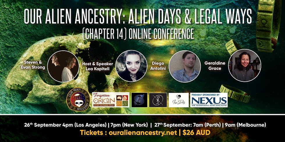 Our Alien Ancestry: Alien Days & Legal Ways - Chapter 14