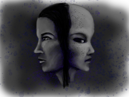 Extra-terrestrial and Human Hybrids
